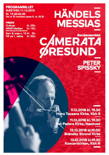 Messias programbillet 2018